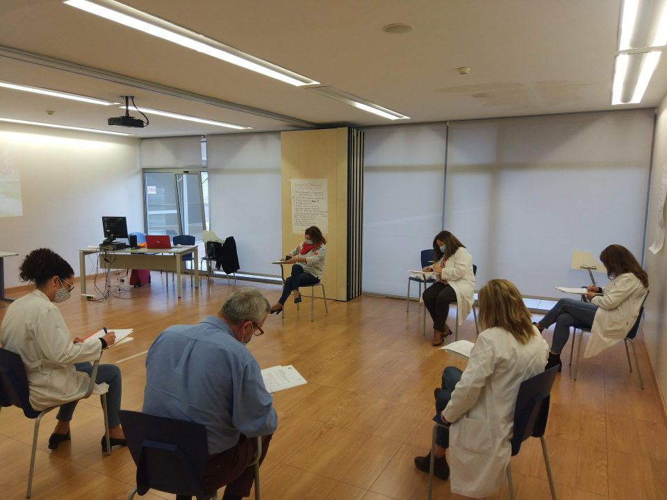 Esta semana pasada, acabábamos el programa de coaching grupal con un grupo de responsables de un hospital de la Región.