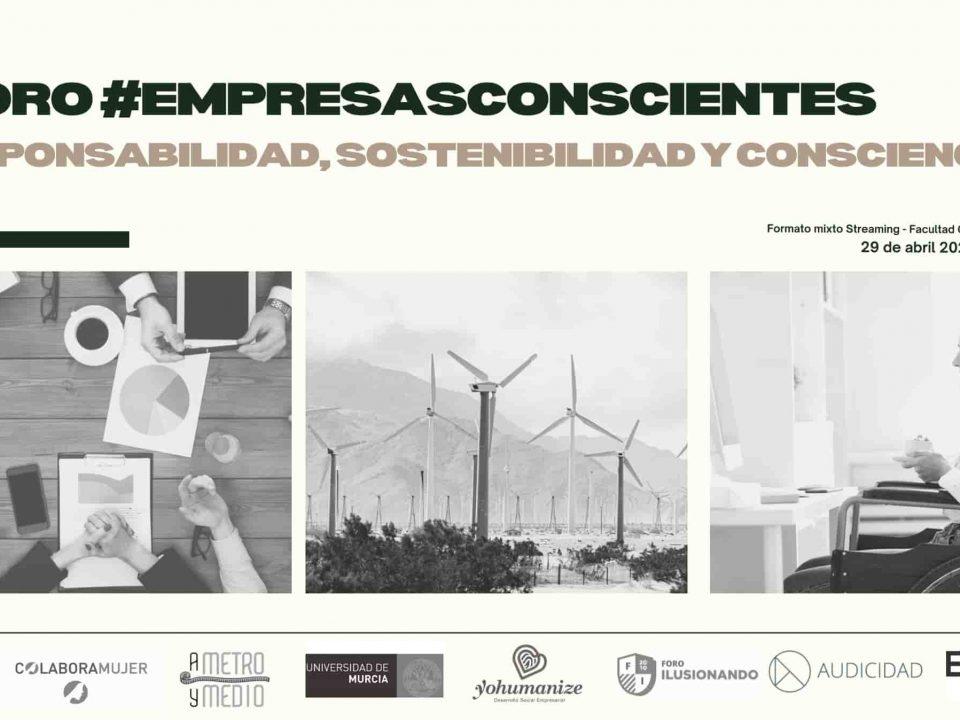 """Participamos en el foro #EmpresasConscientes, con la ponencia """"𝐋𝐢́𝐝𝐞𝐫𝐞𝐬 𝐂𝐨𝐧𝐬𝐜𝐢𝐞𝐧𝐭𝐞𝐬, 𝐄𝐦𝐩𝐫𝐞𝐬𝐚𝐬 𝐜𝐨𝐧𝐬𝐜𝐢𝐞𝐧𝐭𝐞𝐬""""."""